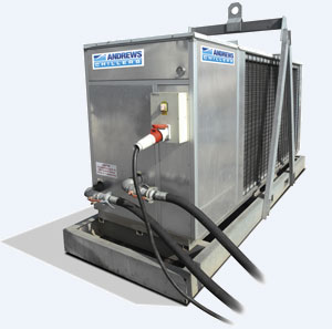 Chiller Hire - 200kw Fluid Chiller