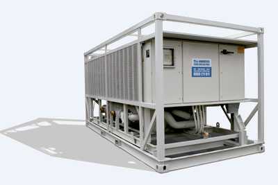 Chiller Hire - 750kw Fluid Chiller