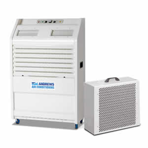 PAC 22 portable air conditioner 65kW Angle View