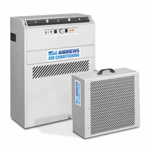 PAC 15 portable air conditioner 45kW Angle View
