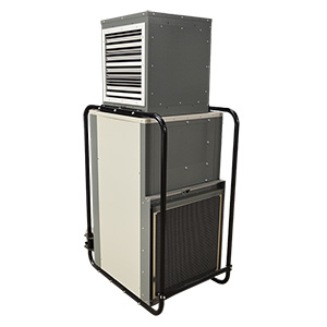 DH150 refrigerant dehumidifier Angle View