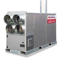 High capacity heaters