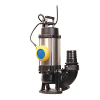 Submersible sludge pumps