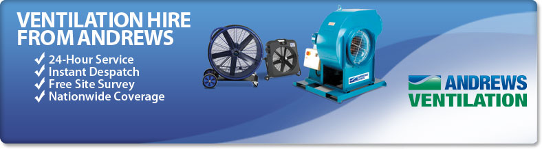 Ventilation Hire from Andrews Sykes