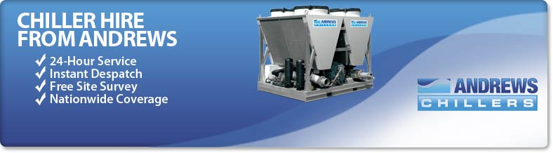 Chiller Hire from Andrews Sykes