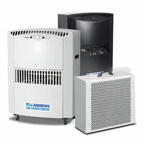 Zephyr PAC portable air conditioner 45KW Angle View