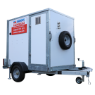 100kW Trailer Mounted Boiler