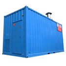 1250kW packaged boiler