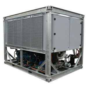 500kW Fluid Chiller Angle View