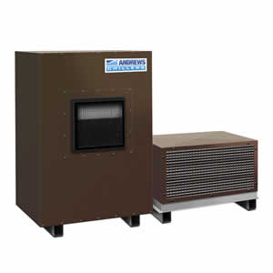 FC45 low temperature chillers Portable chillers Angle View