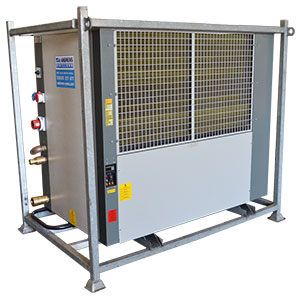 FC90 low temperature chillers Portable chillers Angle View