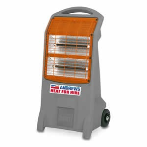 Radiant Quartz portable electric heater