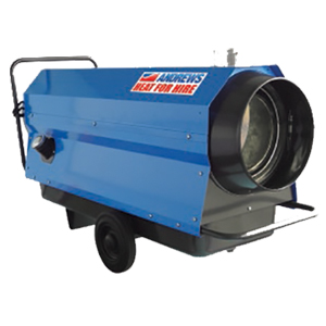 ID35 indirect fired oil heater