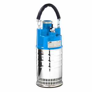 P 1001 Series electric submersible drainer pump
