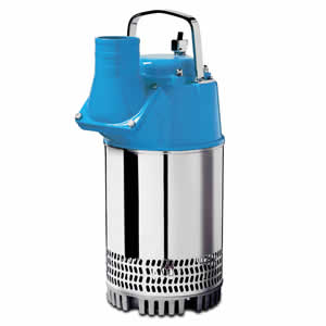 P 3001 Series electric submersible drainer pump