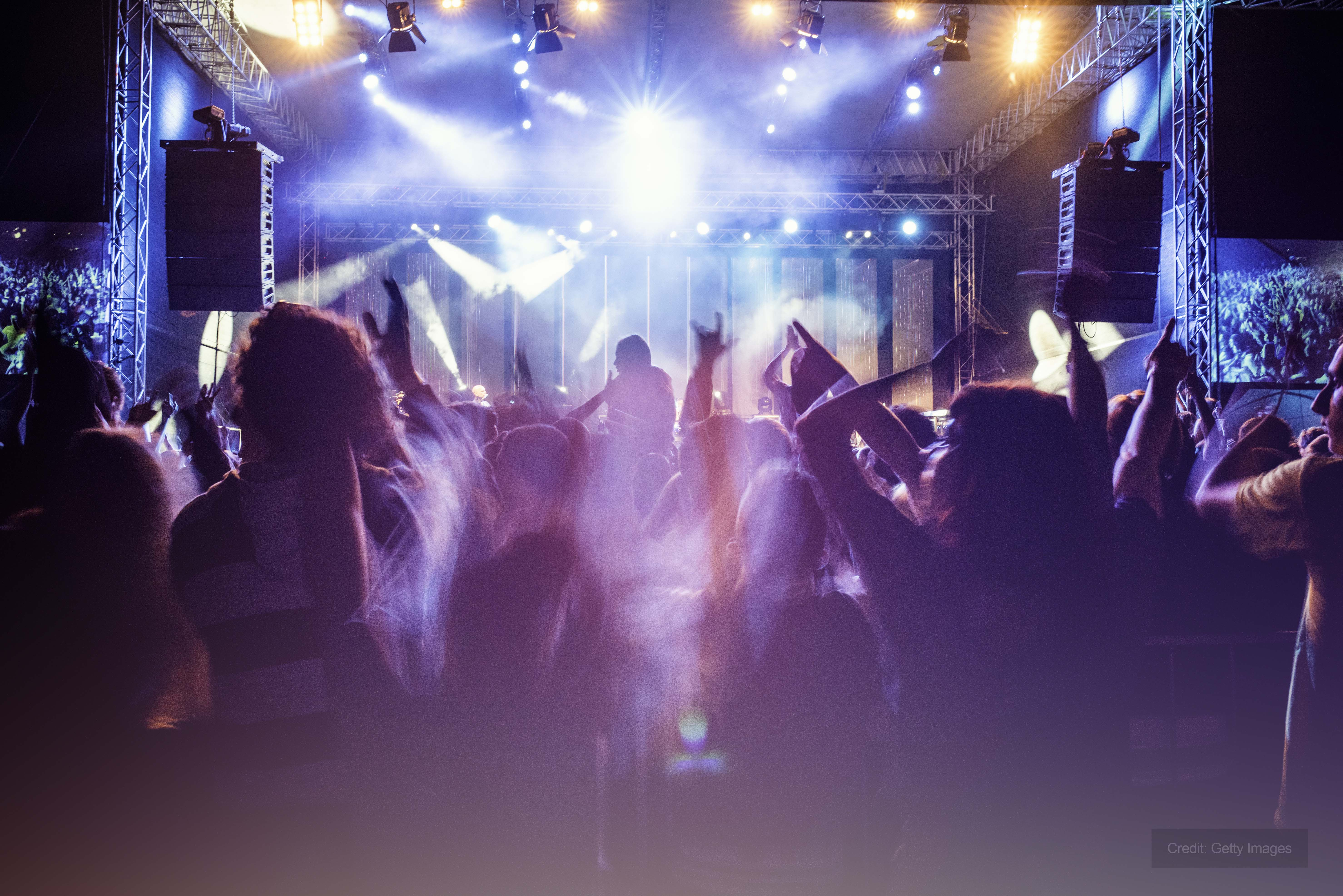 Concert venue in Scotland assisted by Andrews Heat for Hire