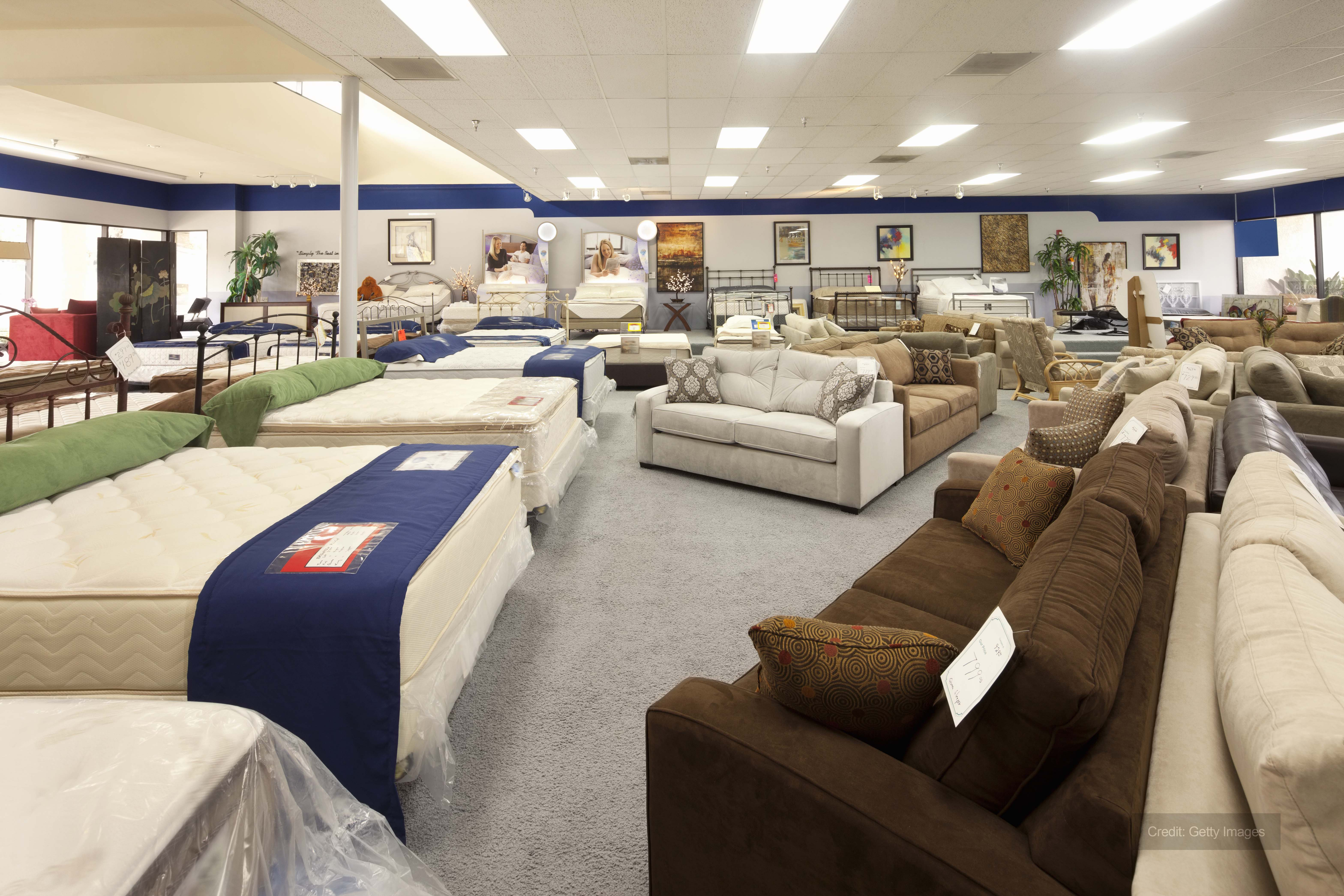 Furniture Shop In Need Of Spot Heating