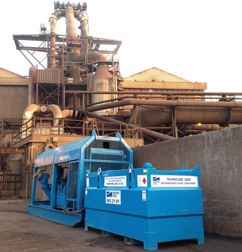 Blast furnace in North-East requires substitute pump