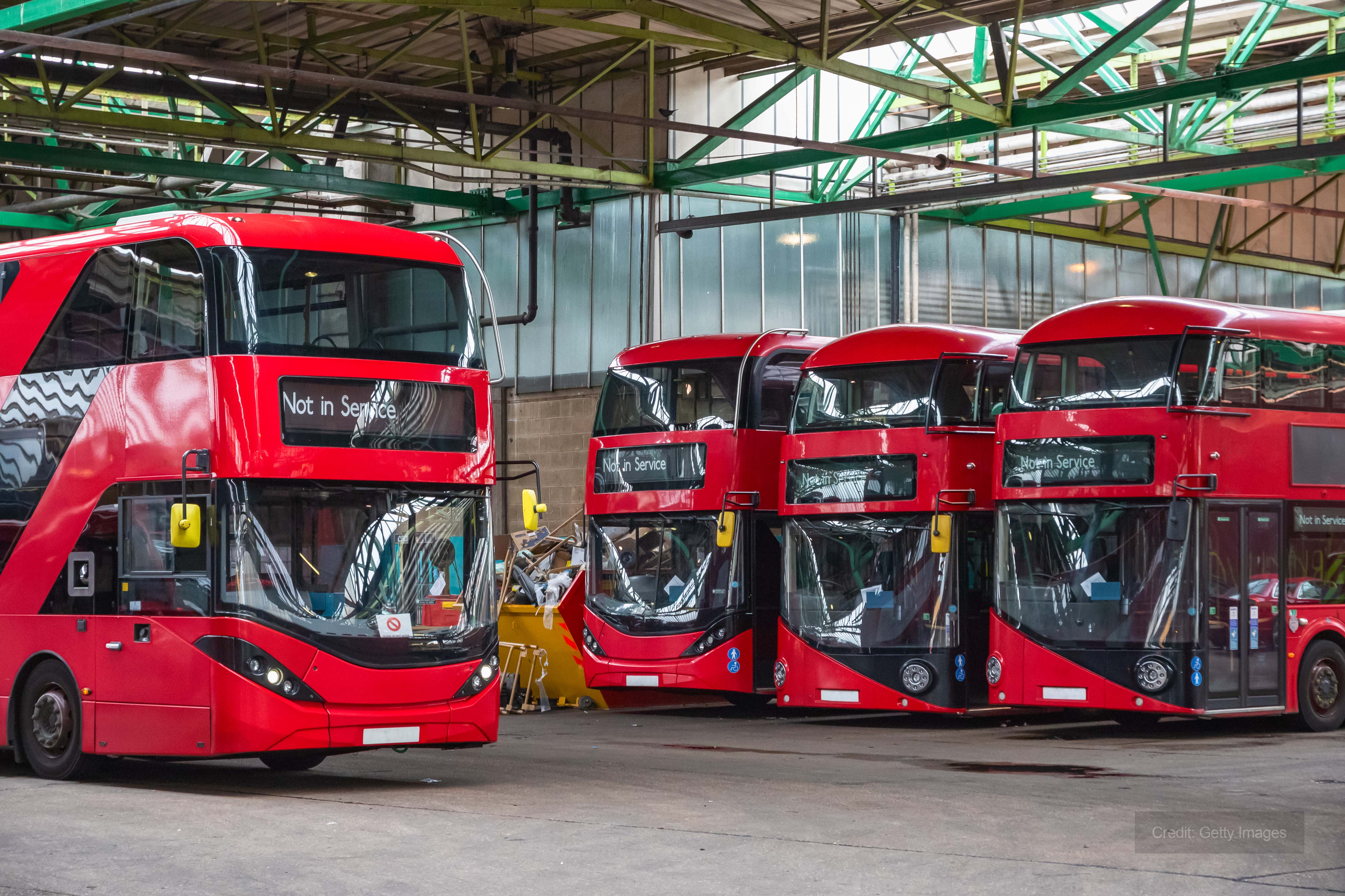 Andrews provide heating for London bus garages