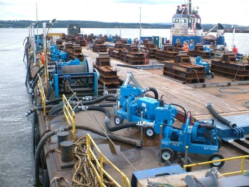 Sykes Pumps assist with Scotland's largest infrastructure project for a generation