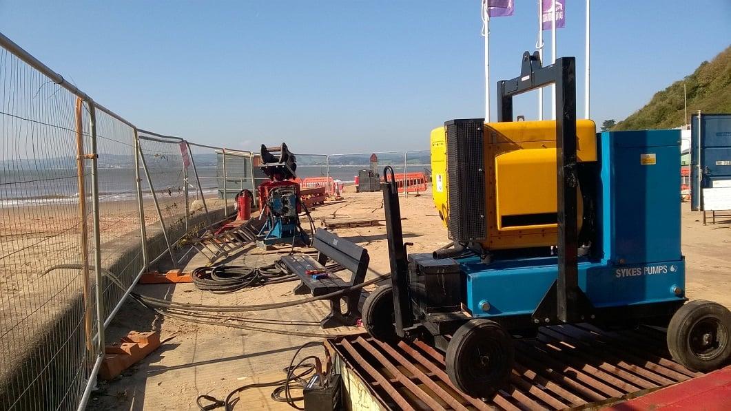 Sykes Pumps safeguard popular stretch of coastline