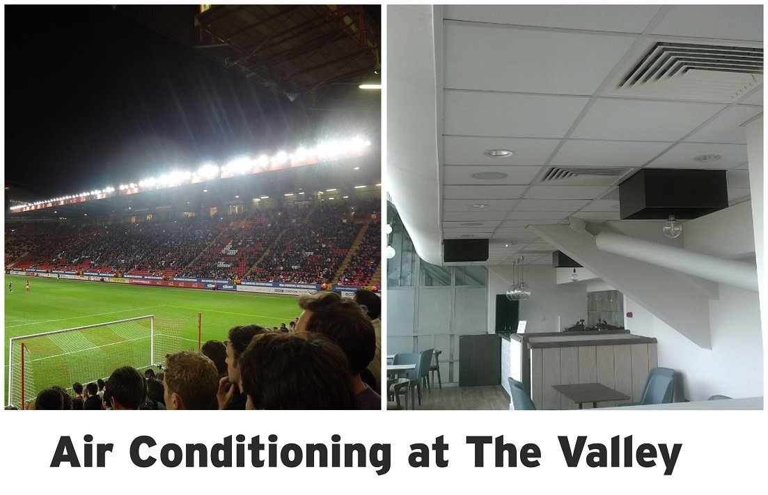 High efficiency air conditioning technology installed at The Valley