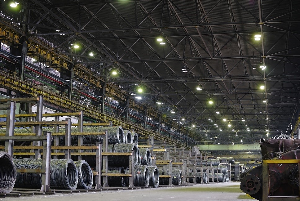International steel manufacturer saved six-figure sum