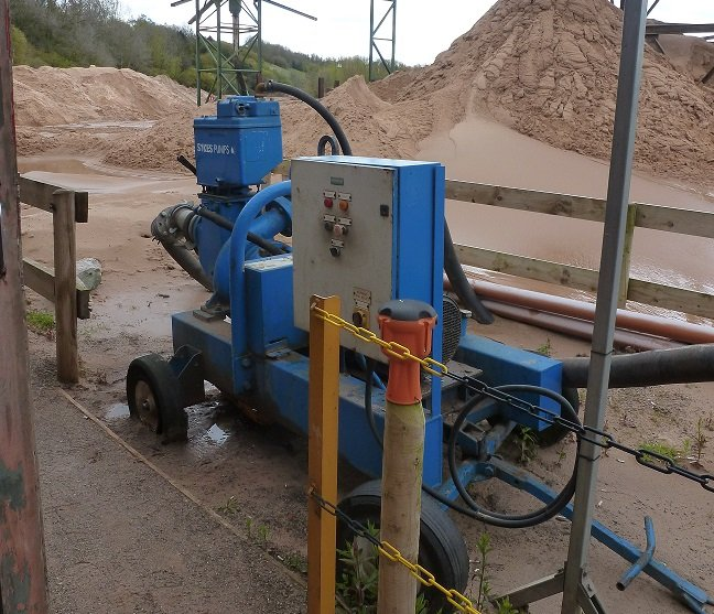 Sykes Pumps help quarry avoid downtime over two-year period