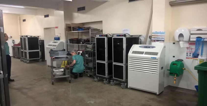 Andrews Air Conditioning cool healthcare facility kitchen