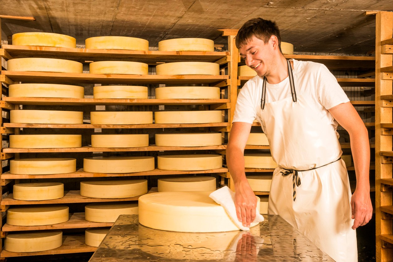 Andrews provide practical drying solution for international cheese manufacturer