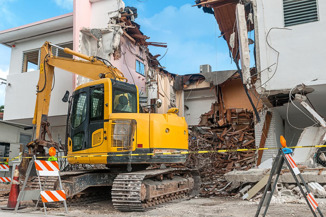 Sykes Pumps aid major demolition project