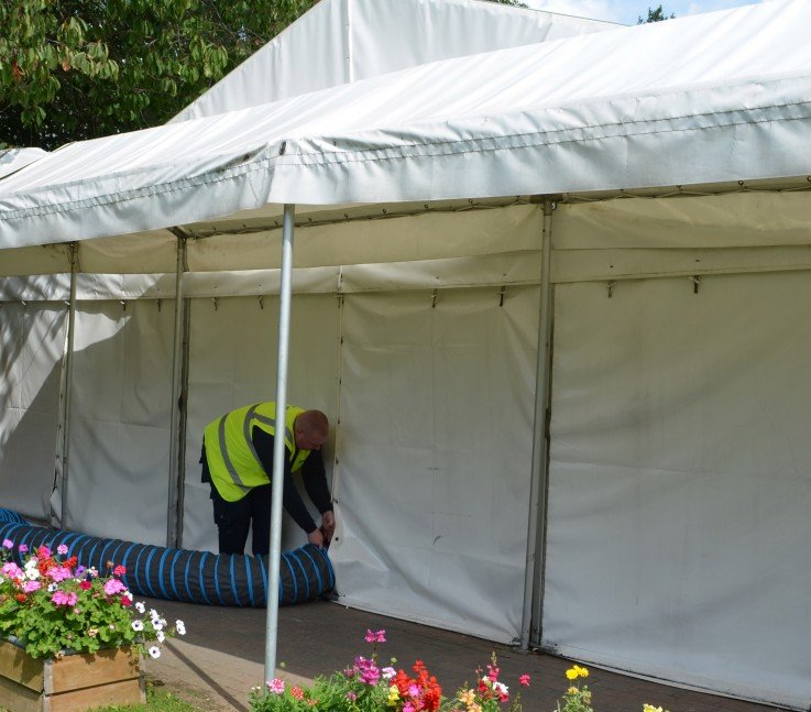 large portable gas heaters for marquee indoors