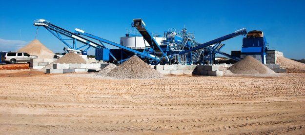 Sykes Pumps Hire drafted in to assist with cleaning aggregate material
