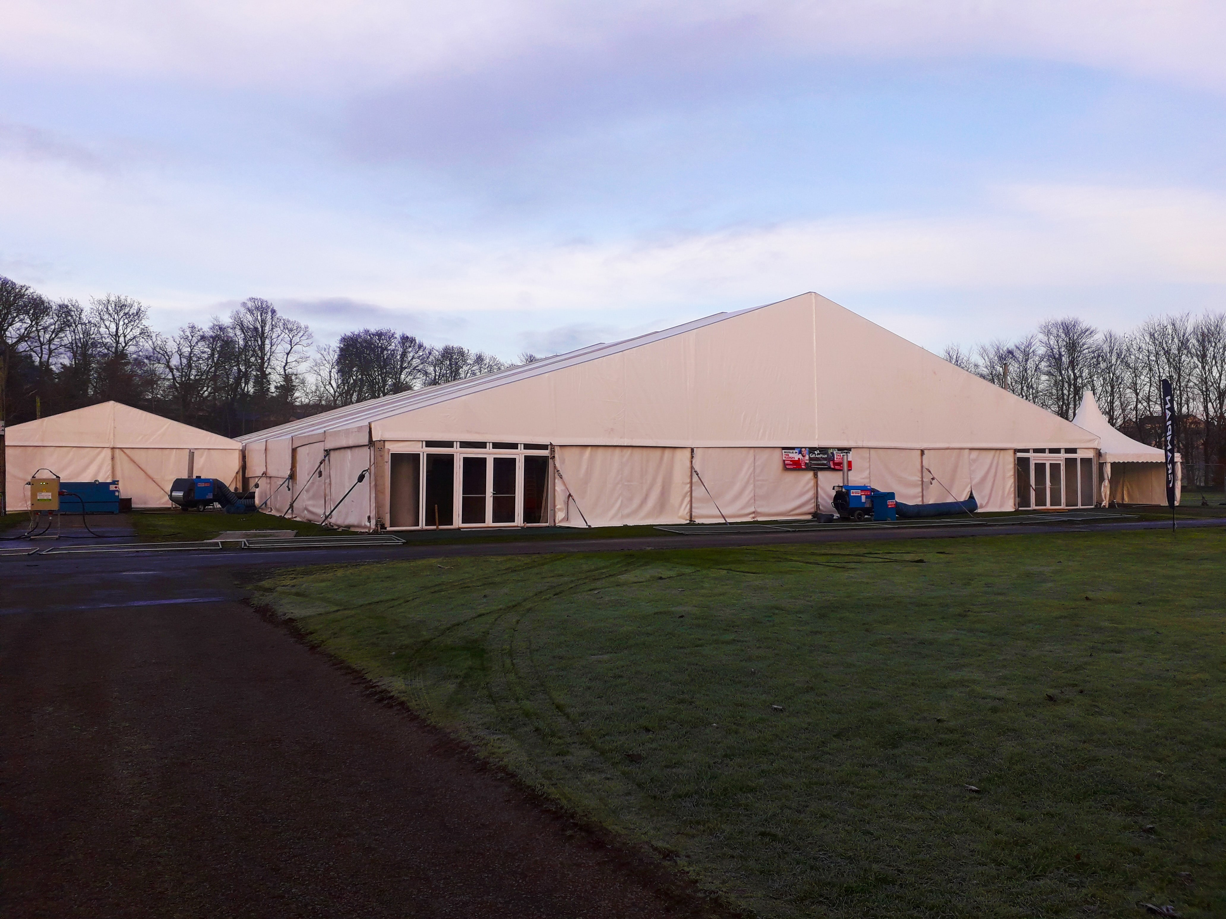 Andrews provides heating for major agricultural show in Scotland