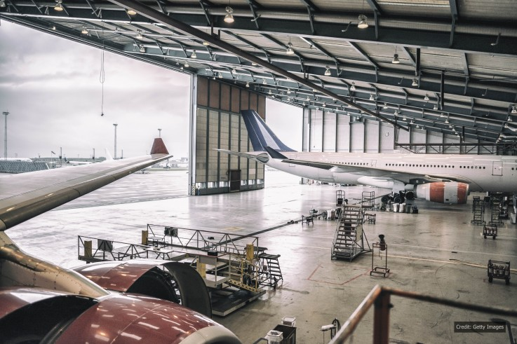 Andrews Heat for Hire responds to aircraft maintenance service