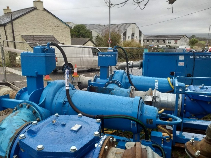Sewer renovation prompts Sykes Pumps to assist South West Water