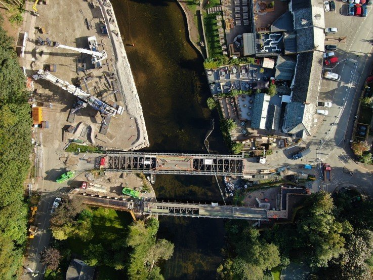 Sykes provides overpumping solution for Pooley Bridge reconstruction