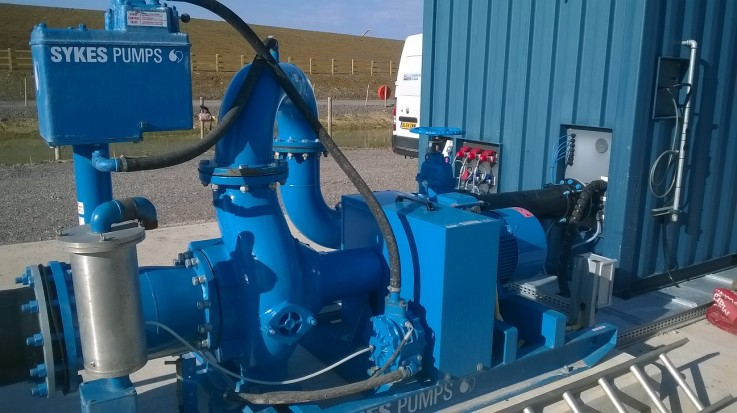 Ongoing Hinkley Point C project requires Sykes dewatering solution