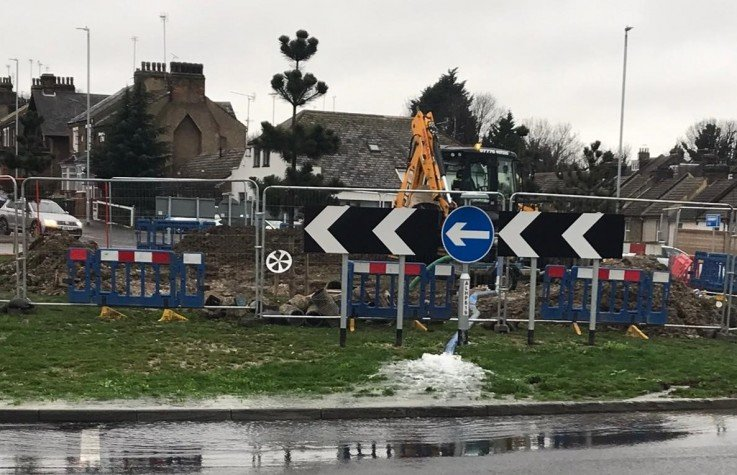 Sykes Pumps responds to burst water main in Kent