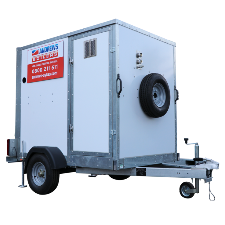 New road trailer boiler improves emergency response times
