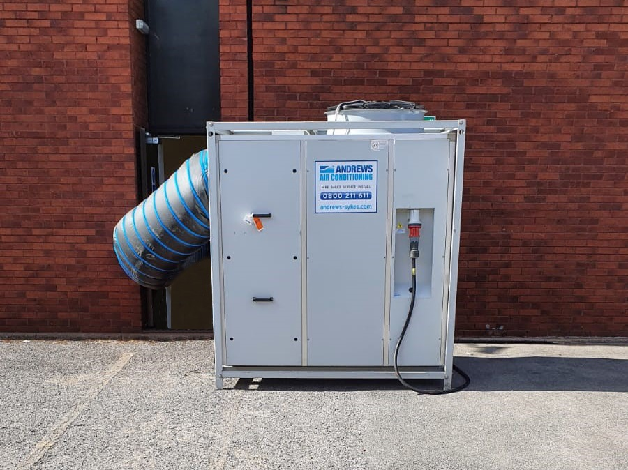 Air conditioning hire keeps international sports broadcaster operational