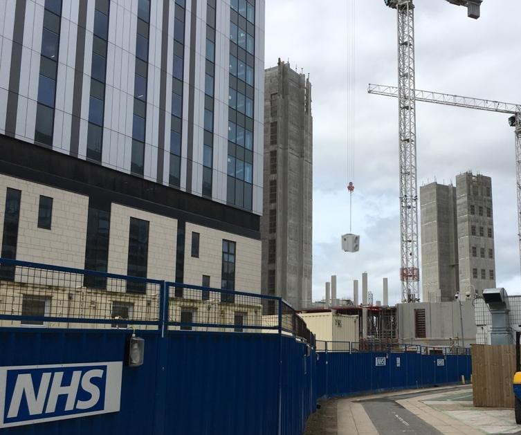 Bespoke air conditioning hire cools hospital during summer