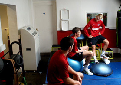 Andrews Air Conditioning Hire assists Charlton Athletic with pre-season preparations