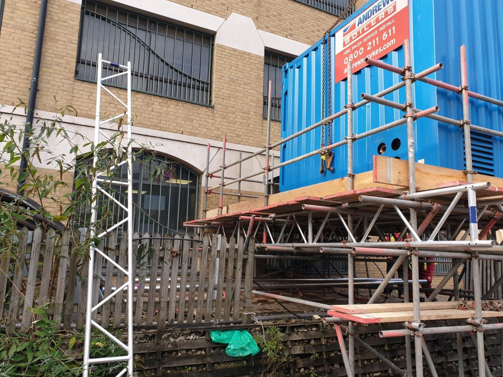 Andrews provides temporary boiler installation for famous animal rescue centre