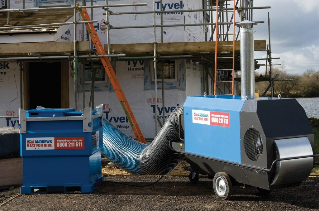 Integrated heater and dryer arrangement helps client overcome water ingress issue