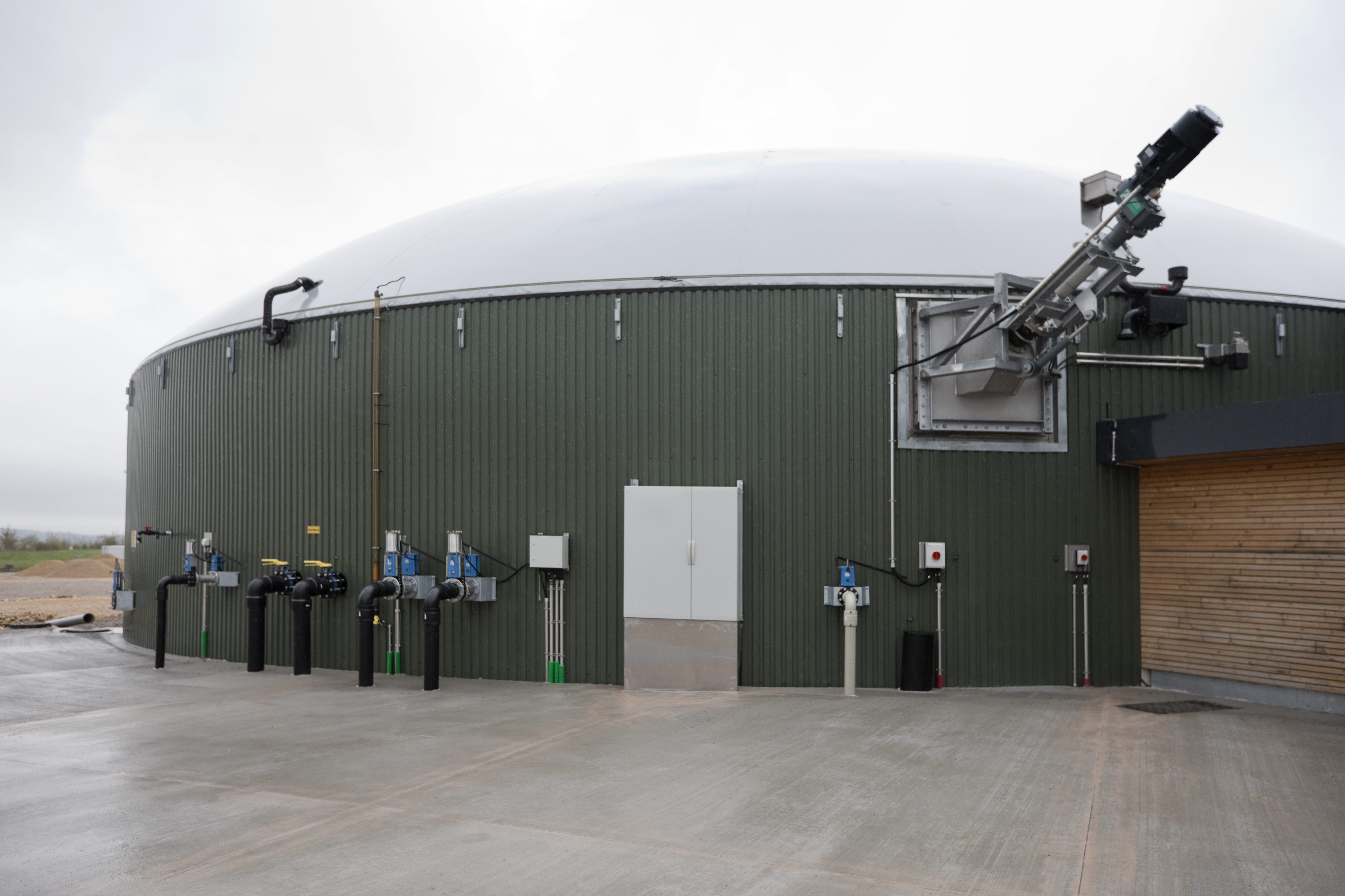 Digester boiler hire helps preserve energy output at sewage treatment plant