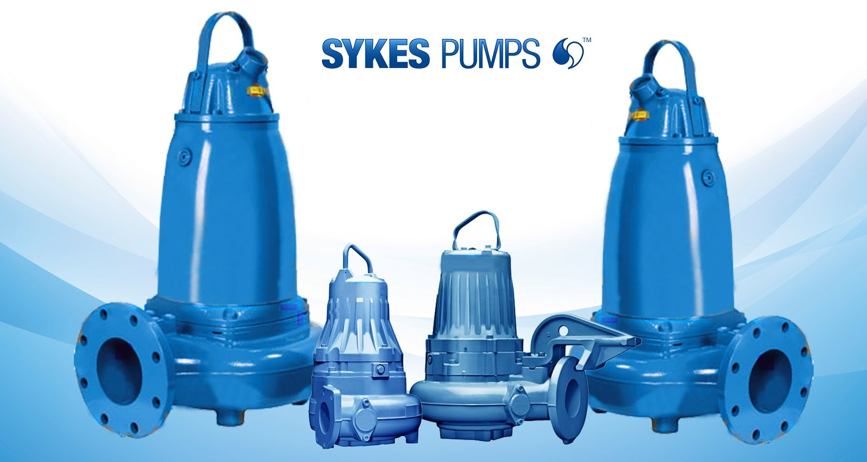 Sykes Pumps adds four new models to expansive electric submersible wastewater range