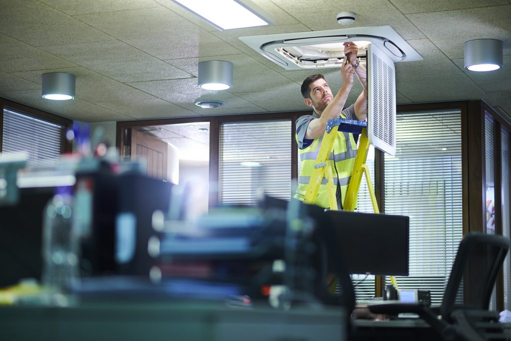 FM company hires kit for load testing following office refurb