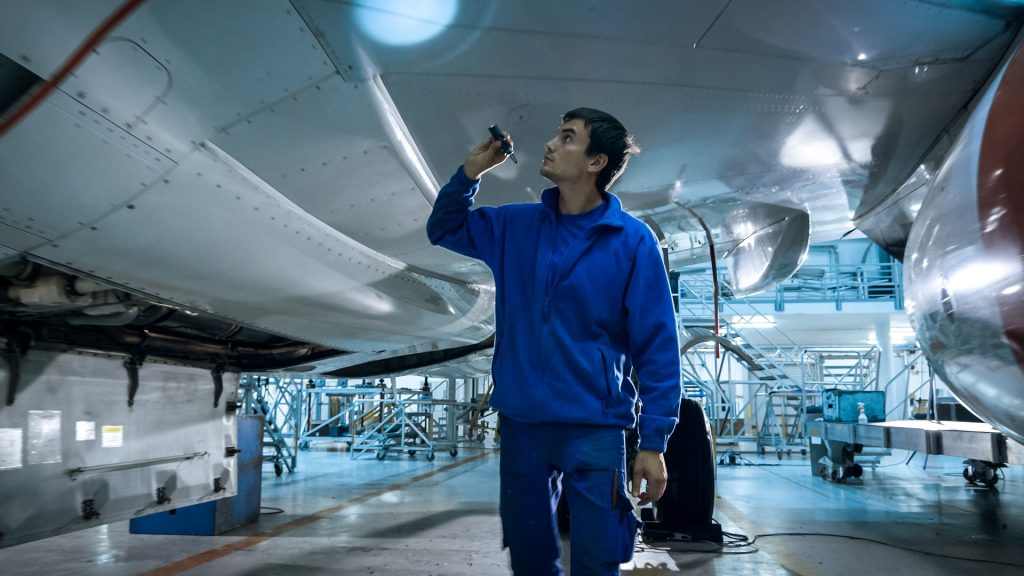 High performance air conditioning system keeps aerostructures company operational