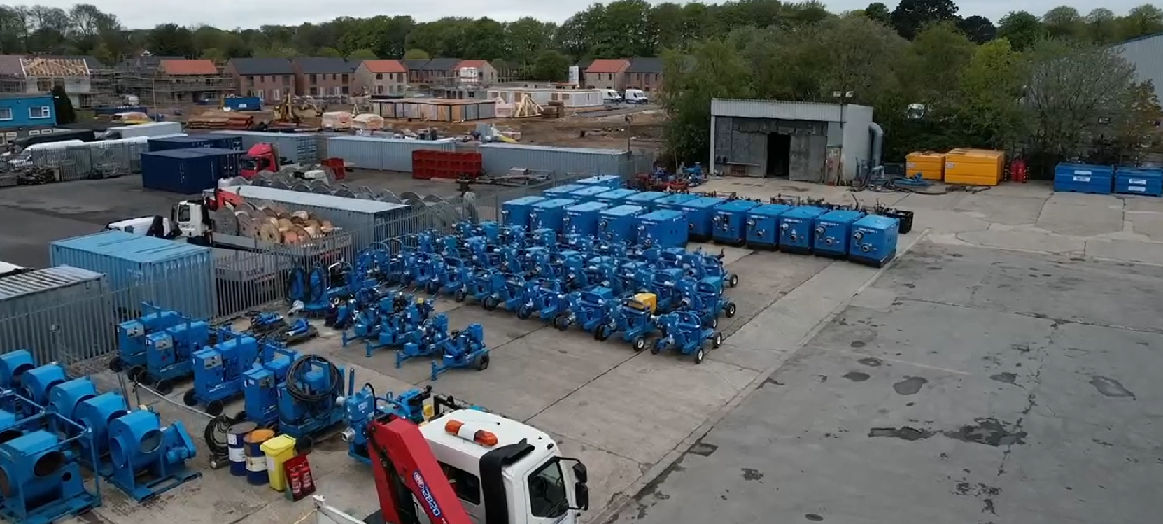 Sedgefield depot investment helps streamline our pump hire services for local customers